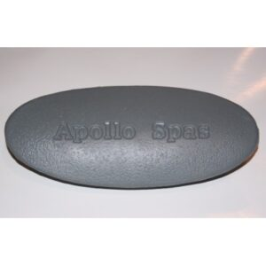 Pillow oval grey (Apollo)