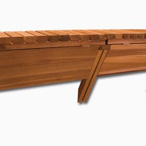72″ Cedar Storage Bar