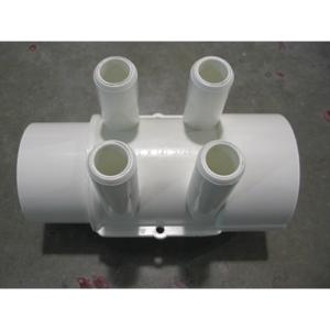 Manifold 4 Port 2″spg x 2″soc x 3/4″barb