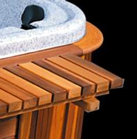 Custom Bar 64″ Cedar