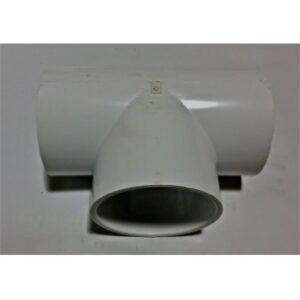 4″ PVC Tee for Niagra System