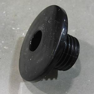 Air Injector Wallfitting Black