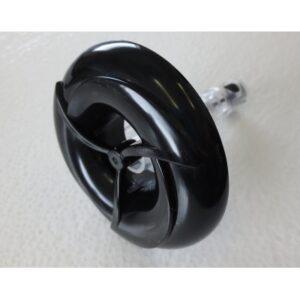 Turbo 3″ Single Pulse Black/Clear Screw In