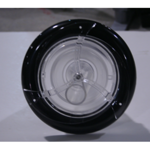 Turbo 5″ Single Pulse Black/Clear Screw In