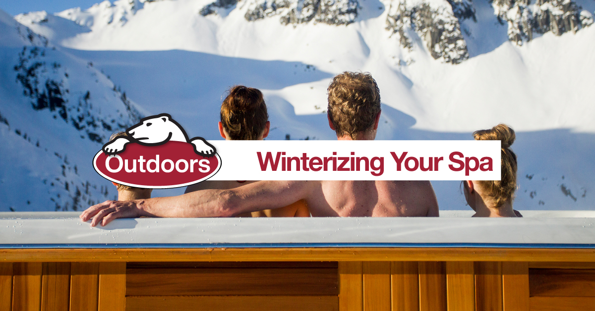 Winterizing Your Spa
